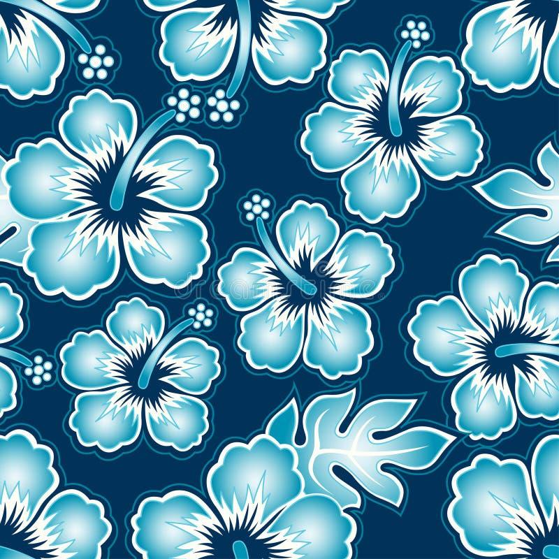Hibisco tropical. stock de ilustración