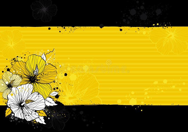 hibiscus ανθοδεσμών διάνυσμα απεικόνιση αποθεμάτων