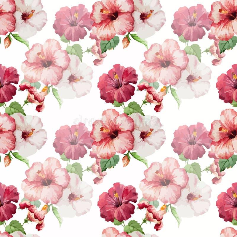 Hibiscus3 stock abbildung