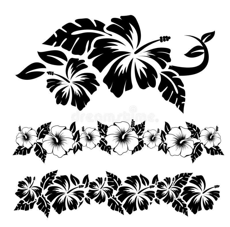 Hibiscus 2 ilustração stock