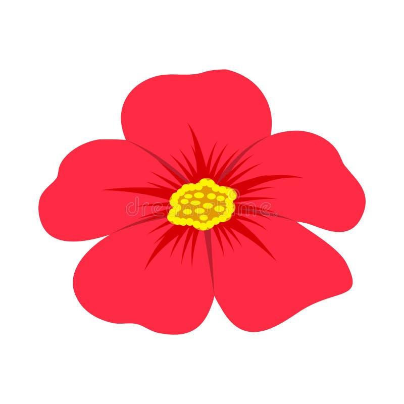 Hibiscus Hawaiiaanse illustratie royalty-vrije illustratie