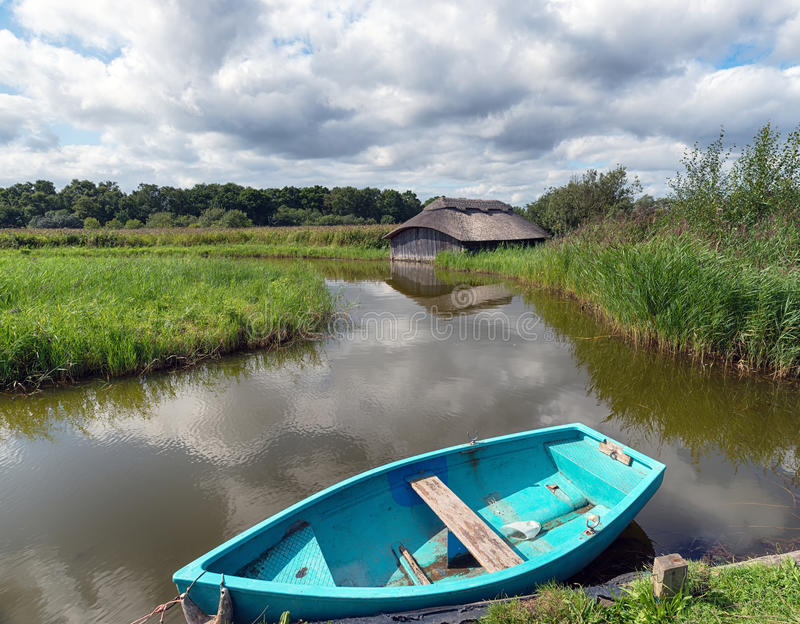 Hickling Broad in Norfolk royalty free stock image
