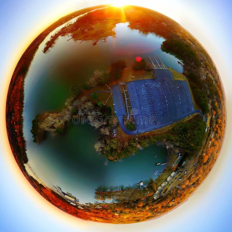 Hickory озера стоковое фото