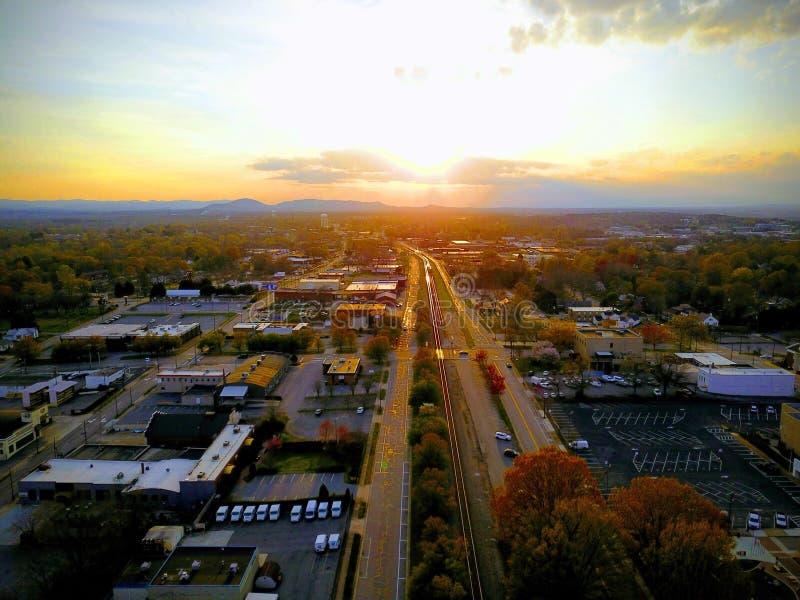 Hickory ferroviaire photo libre de droits