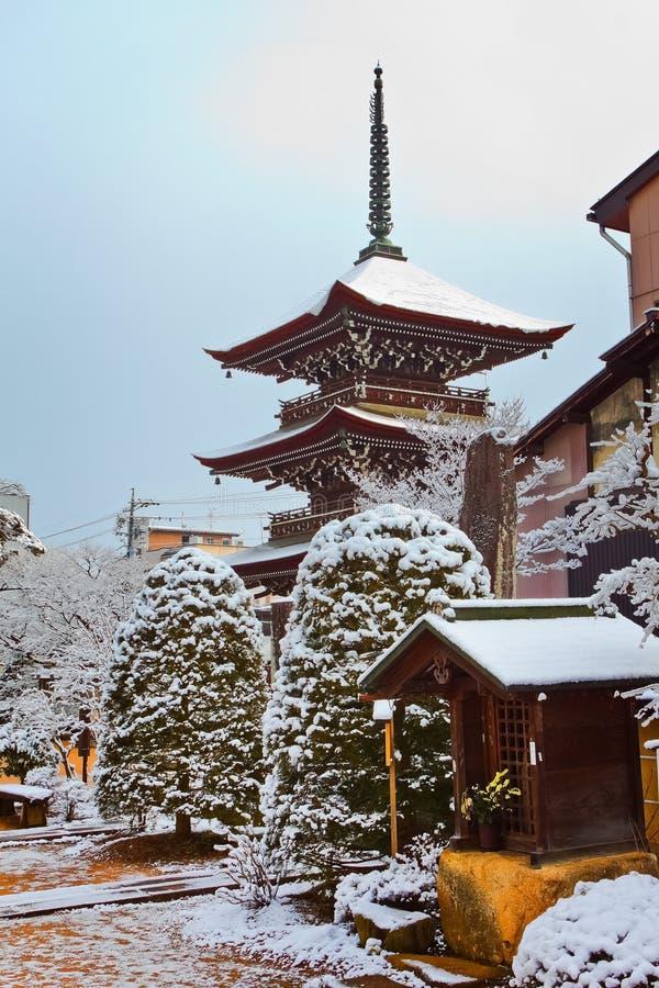 Hida国分寺市寺庙, Takayama 免版税图库摄影