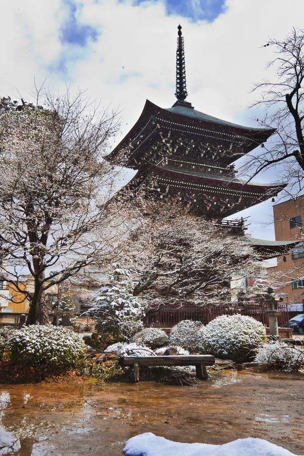 Hida Kokubunji świątynia obraz royalty free