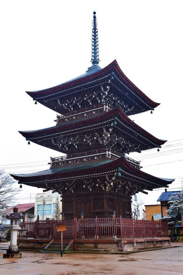 Hida Kokubunji świątynia zdjęcie royalty free