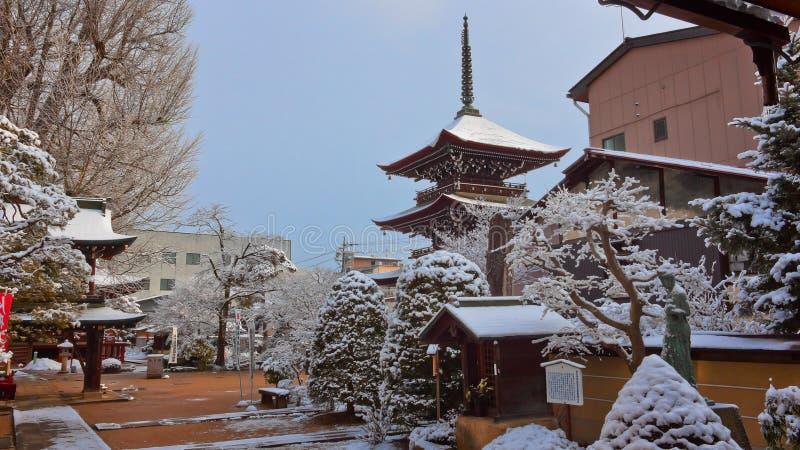 Hida Kokubunji świątynia w Takayama obrazy royalty free