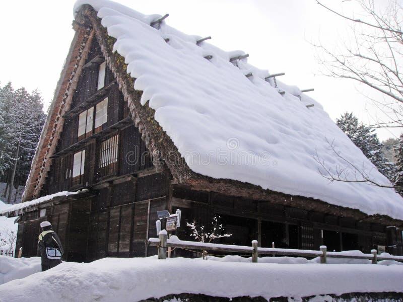 Hida Minzoku Mura Folk Village. In Hida stock photos