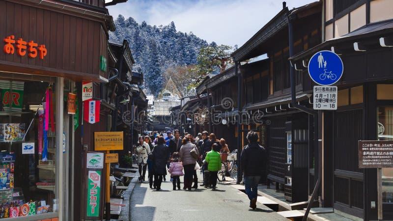 Hida Takayama arkivbilder