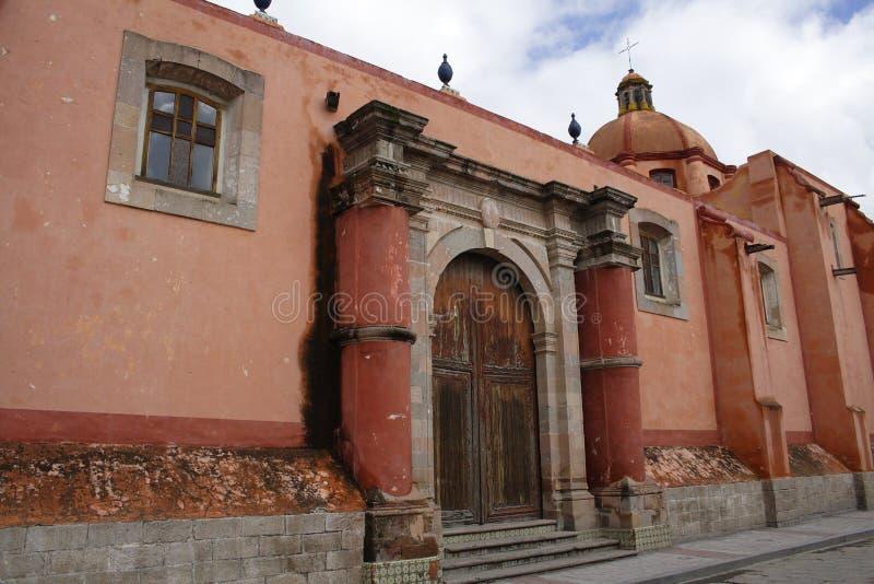 hidalgo dolores церков стоковое изображение