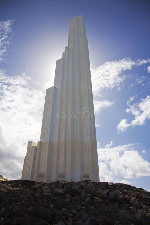 Hidalgo-Leuchtturm stockbilder