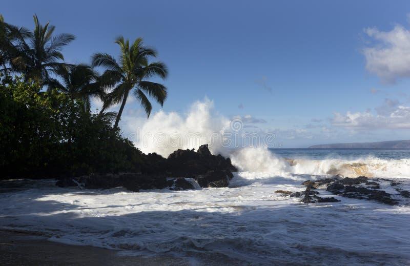Hidden Beach, Maui, Hawaii royalty free stock photography