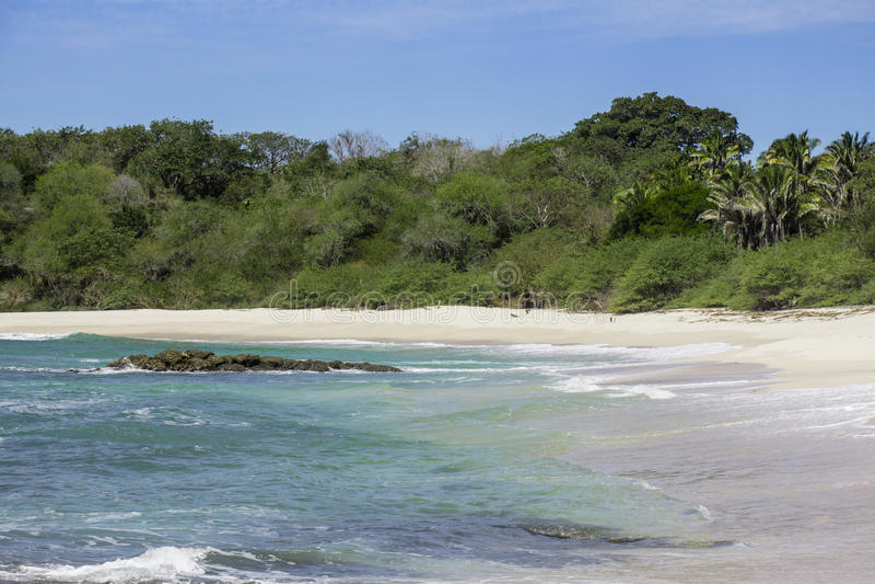 Hidden beach royalty free stock photo
