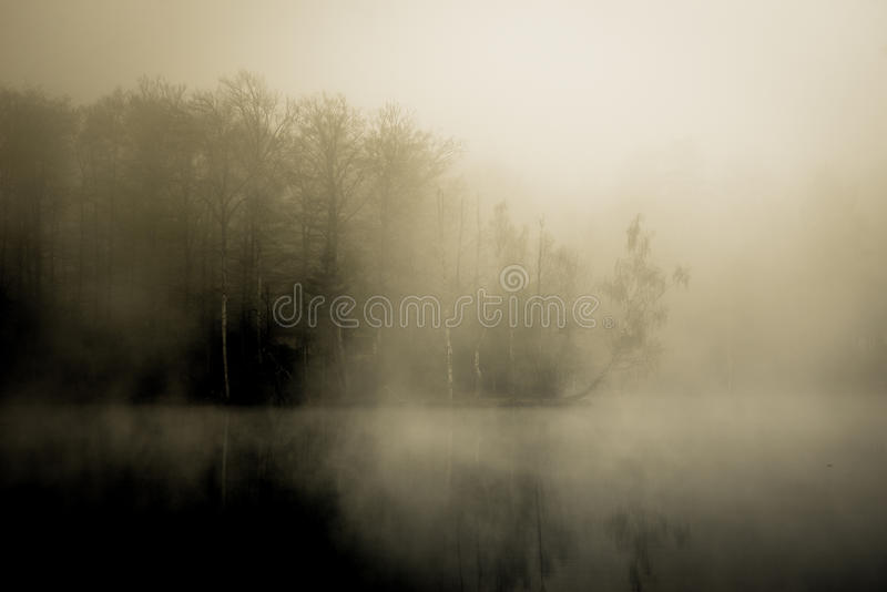 Download Hidden house stock photo. Image of haunted, dawn, reflection - 33428452