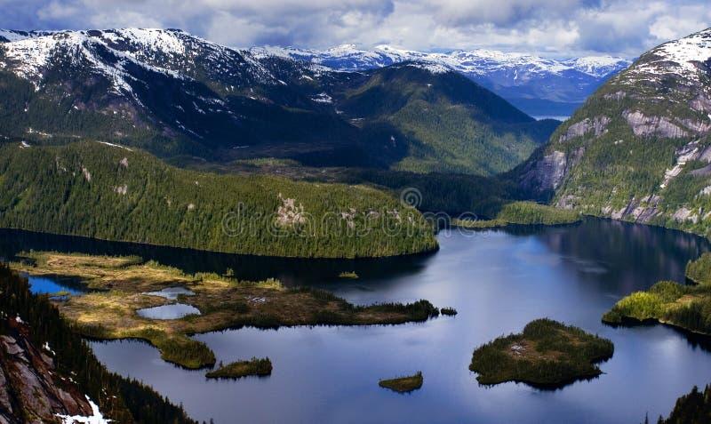 Hidden Lake stock image