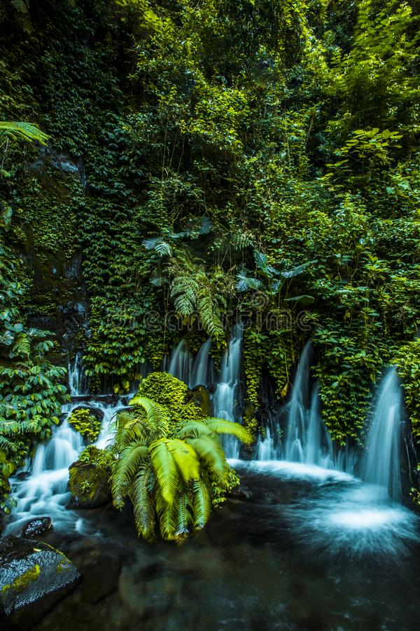 Hidden Paradise in Indonesia East Java stock images