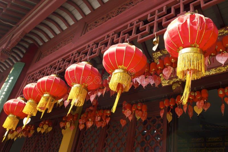 Hidden Shanghai: the Jade Buddha Temple, a very spiritual place stock photography
