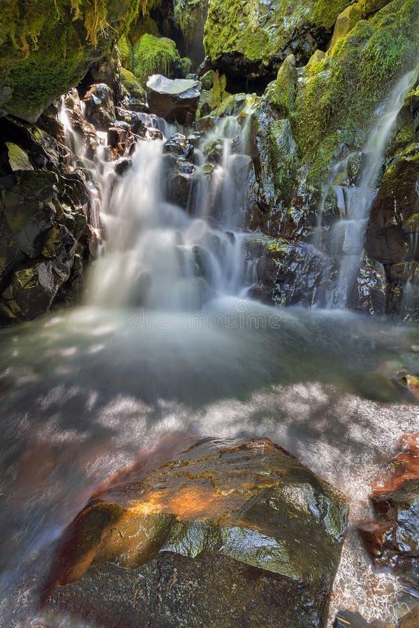 Free Hidden Waterfall Along Gorton Creek Royalty Free Stock Photography - 56873067