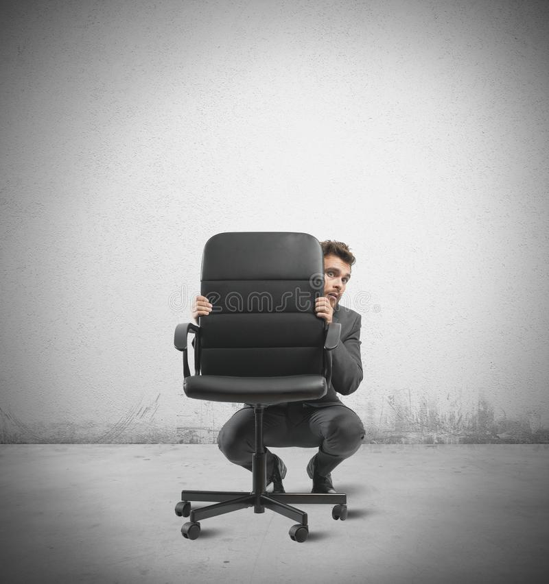 Hide from the crisis royalty free stock photo