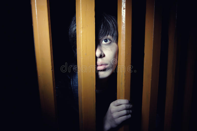 Hide and seek stock photo