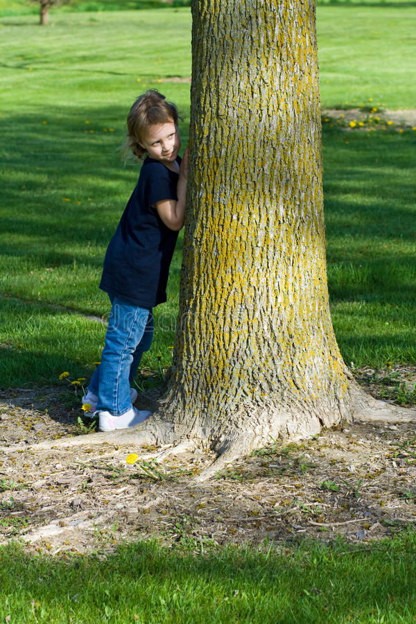 Download Hide and seek stock photo. Image of small, young, looking - 19626310