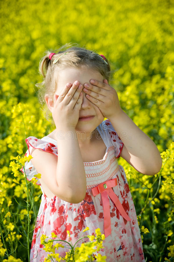 Download Hide-and-seek in field stock photo. Image of landscape - 25465532