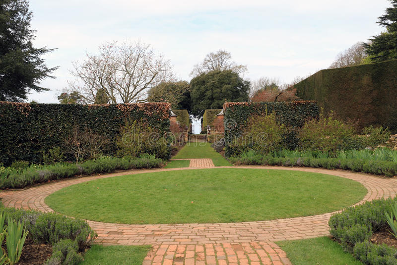 Hidecote Manor Gardens stock images