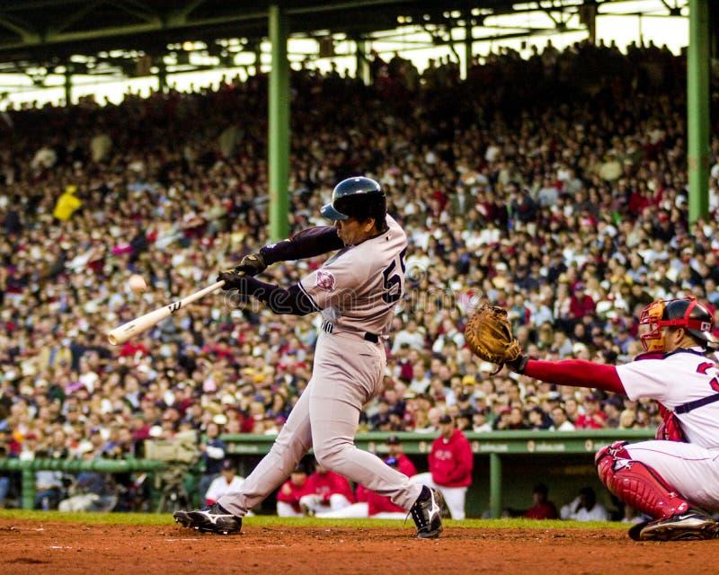 Hideki Matsui, New York Yankees immagini stock libere da diritti