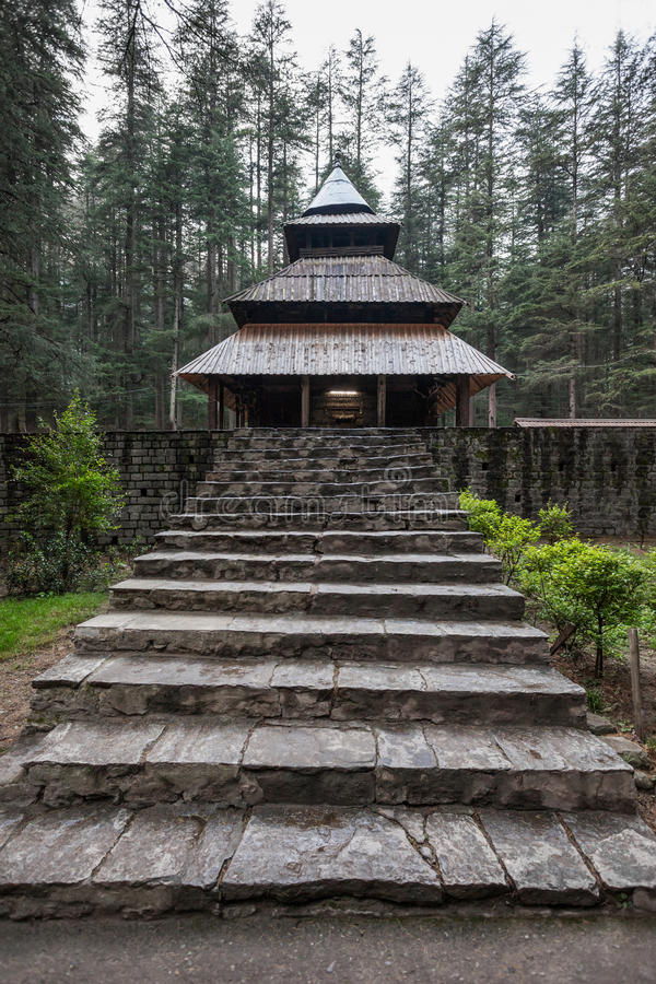 Hidimda Devi Temple royaltyfria foton