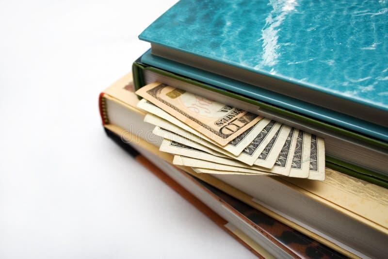 Hiding Money In Books Stock Photography