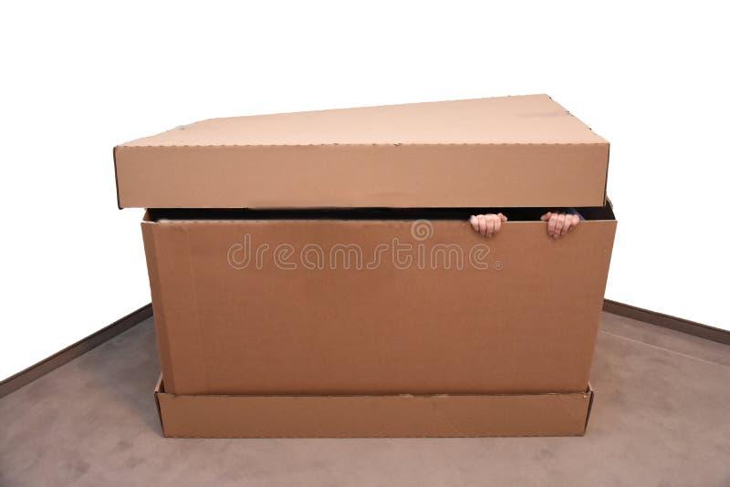 Hiding place stock photos
