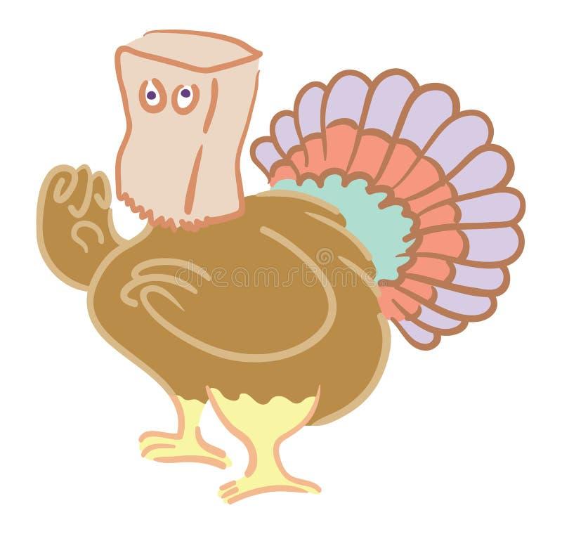 Download Hiding Turkey Stock Image - Image: 10854271