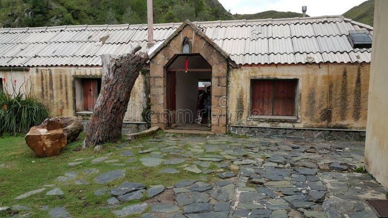Hiding Village stock photo