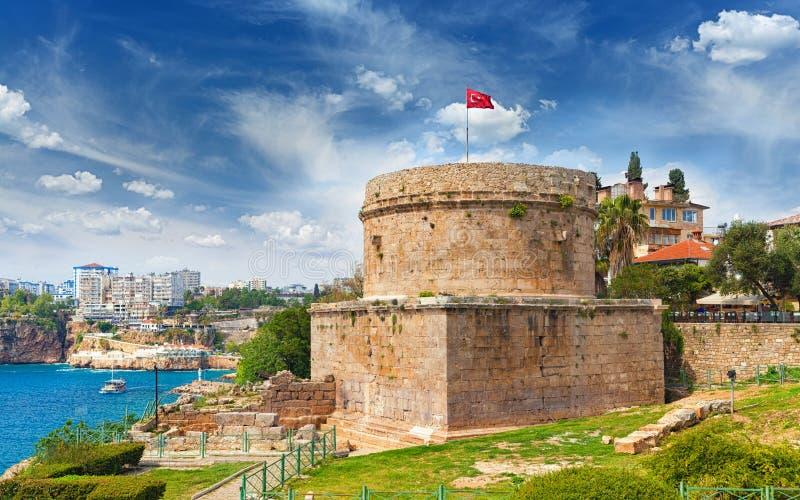 Hidirliktoren in Antalya, Turkije royalty-vrije stock afbeeldingen