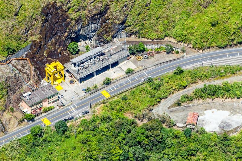 Hidro planta de energia imagens de stock