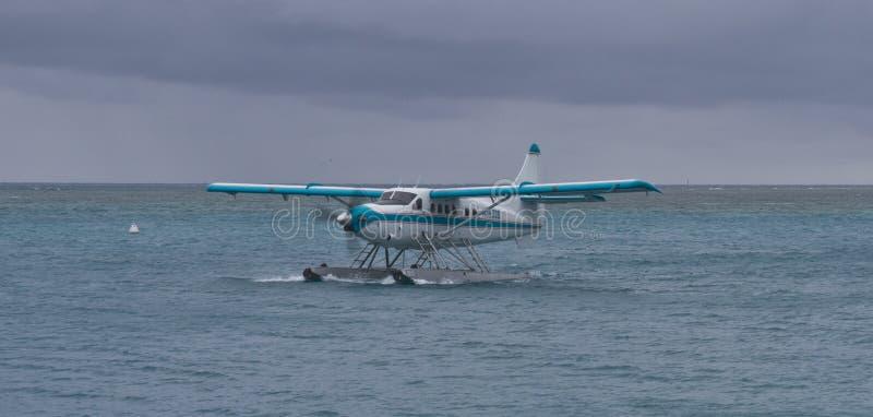 Hidroavião de Key West em Tortugas seco imagem de stock