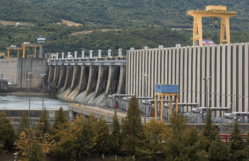 Hidroelectricidad foto de archivo libre de regalías