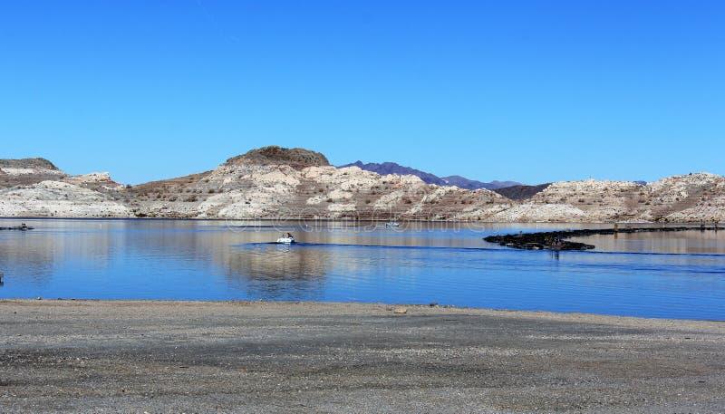 Hidromel do lago no Arizona EUA fotos de stock royalty free