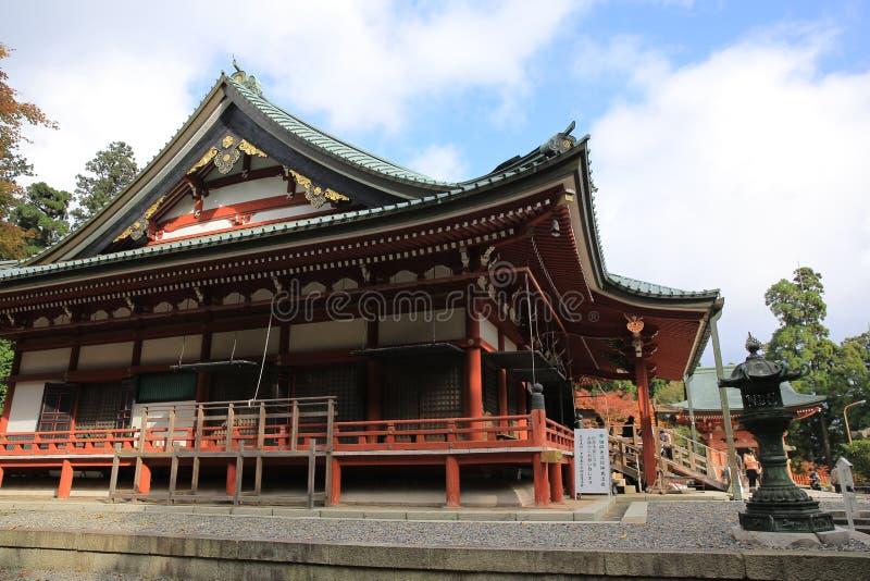 Hieizan Enryakuji στο Κιότο στοκ φωτογραφία με δικαίωμα ελεύθερης χρήσης