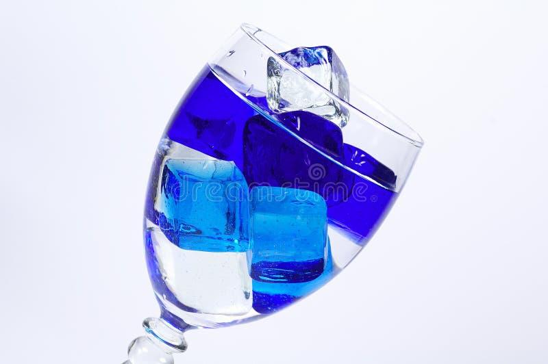 Hielo azul fotos de archivo libres de regalías