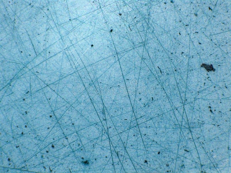 Hielo azul con el rasguño   imagenes de archivo