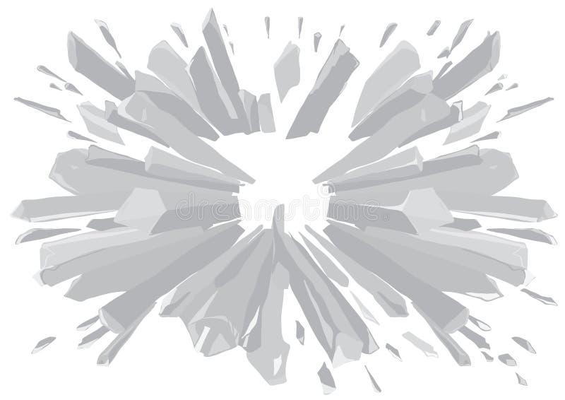 Hielo de plata libre illustration