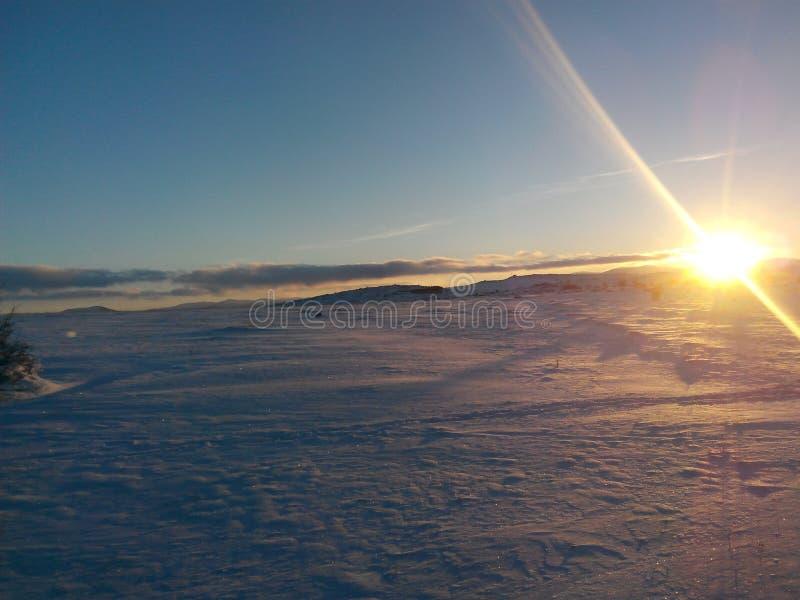 Hielo de Sun fotos de archivo