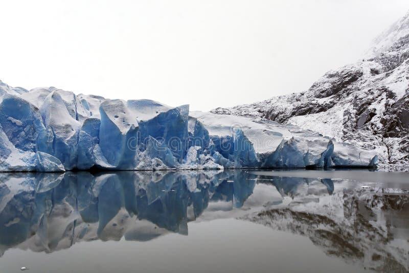 Hielo del glaciar foto de archivo libre de regalías