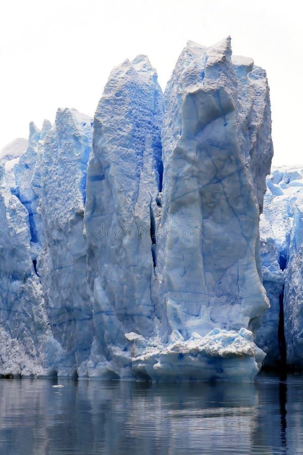 Hielo del glaciar foto de archivo