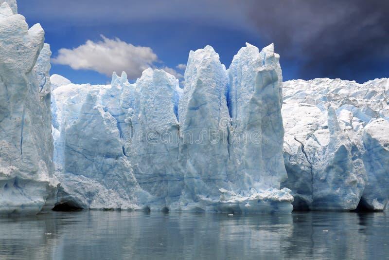 Hielo del glaciar fotografía de archivo libre de regalías