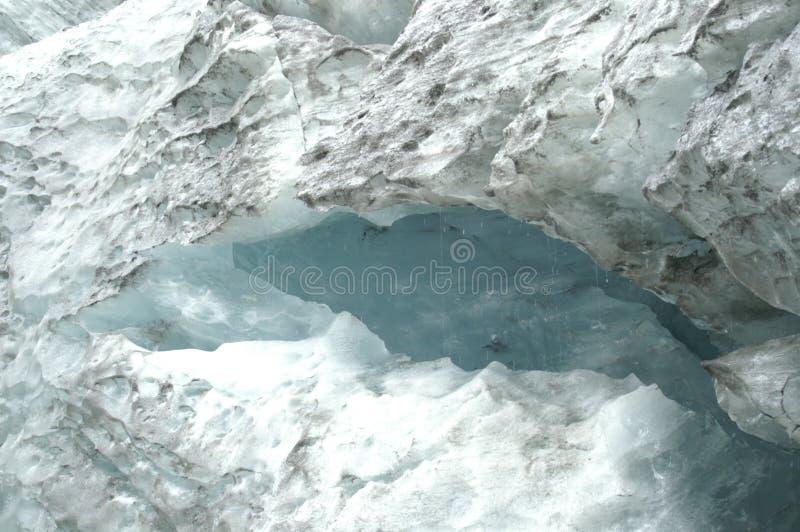 Hielo del glaciar de fusión foto de archivo libre de regalías