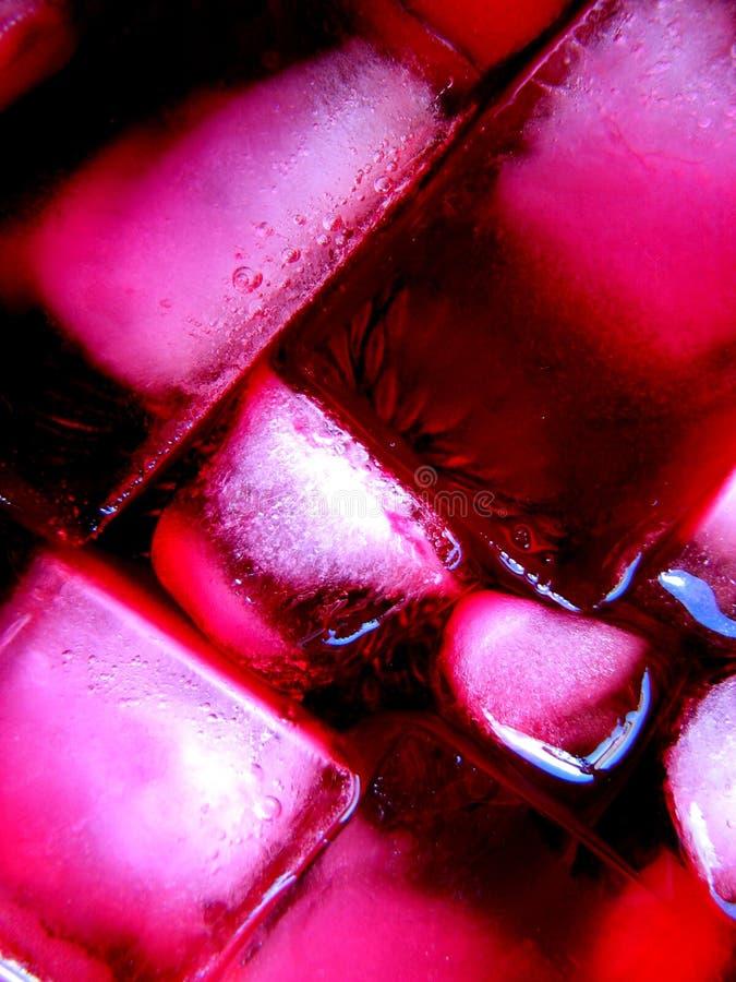 Hielo rosado II imagen de archivo