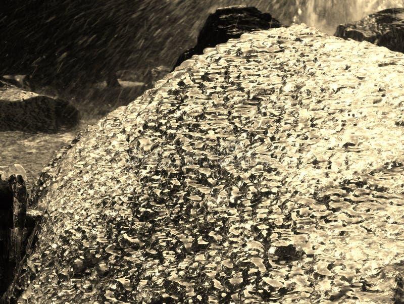 Hielo y piedra fotos de archivo libres de regalías